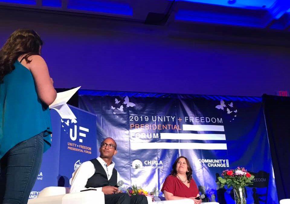 Presidential Hopefuls Layout Immigration Plans at Unity + Freedom Forum